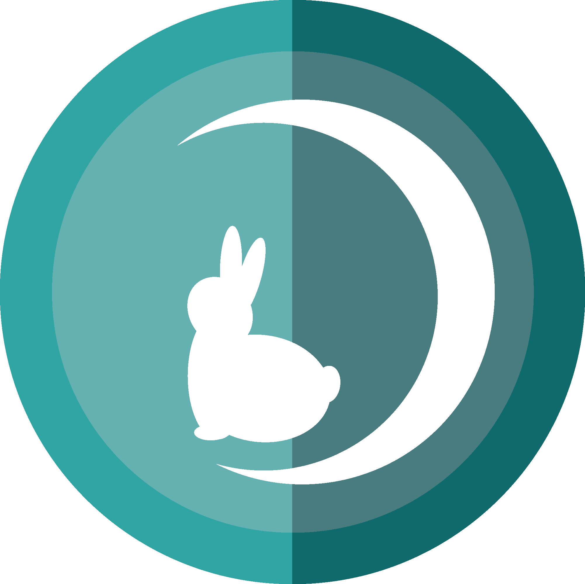 moon rabbit shop icon