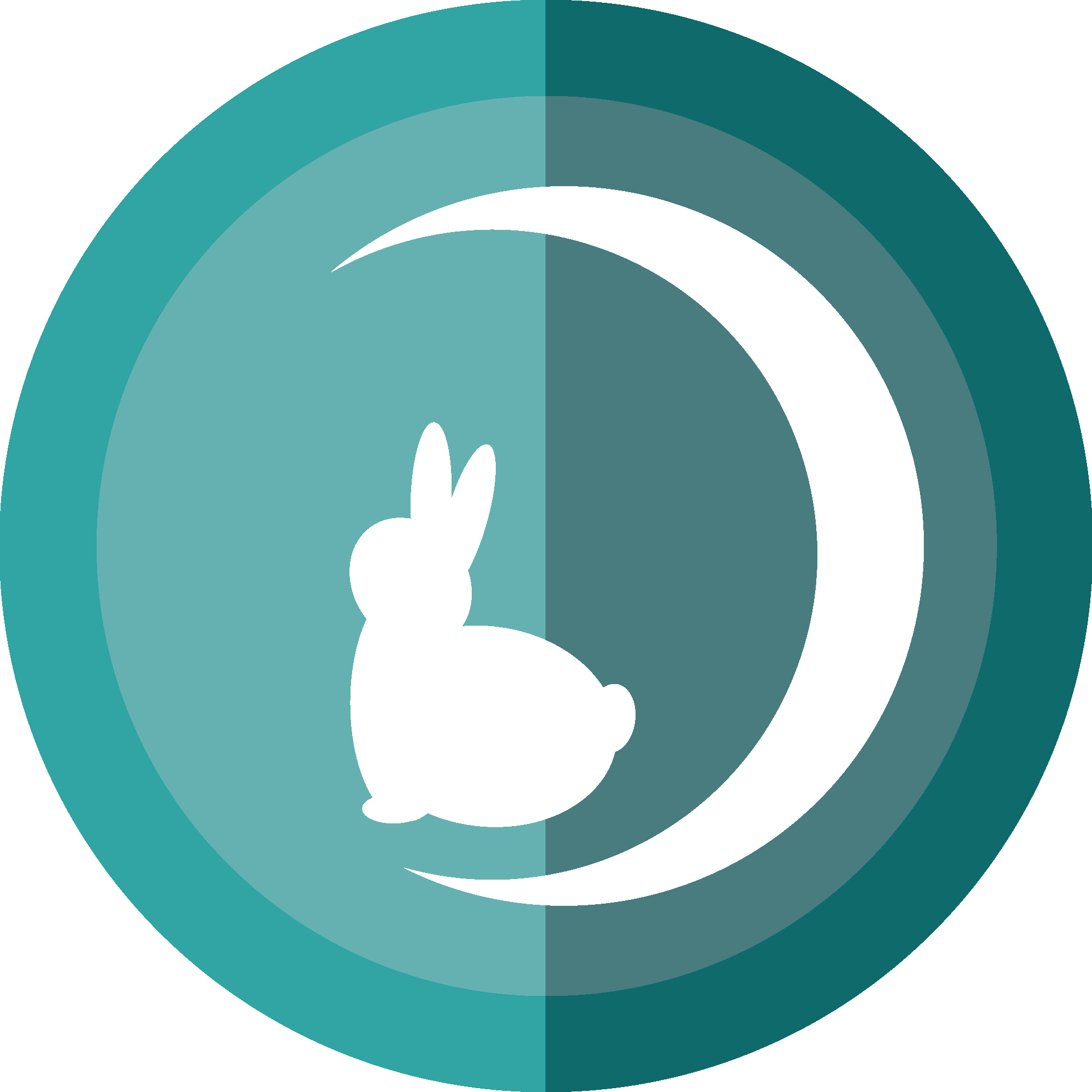 moon rabbit shop icon